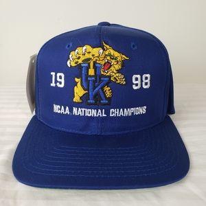 NWT Vintage UK Wildcats 1998 Championship Hat